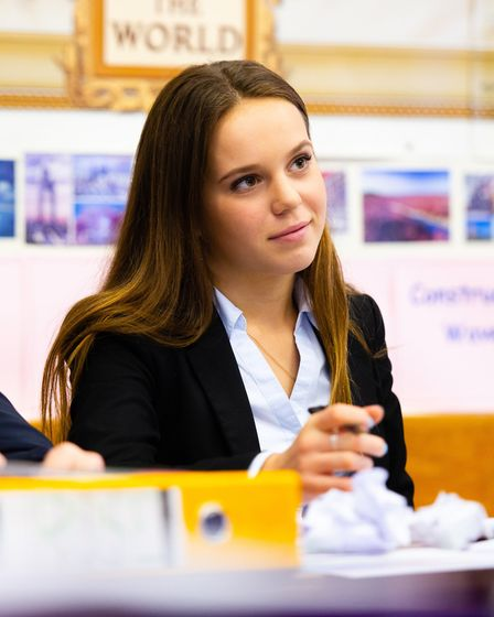 Tilly Atkinson from Stansted. Picture: Felsted School