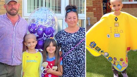 Isla 'the Smiler' McNulty, who is a member of the 2nd Doddington Brownies, was nominated for the Gir