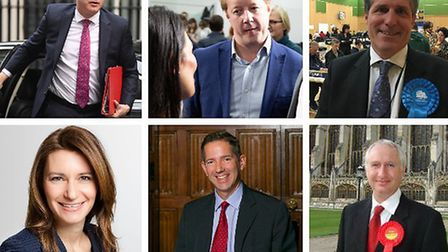 Cambridgeshire MPs and their reaction to the 2020 exams u-turn. Pictures: PA Wire / PA Images, Terry