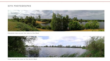 Mepal: Part of the acreage of Mepal Outdoor Centre now under discussion as a proposed crematorium an
