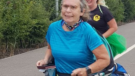 Littleport parkrunners took part in their second virtual 5k Earth Run event in aid of charity. Pictu
