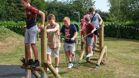New equipment has been installed in High Roding's play area. Picture: Saffron Photo