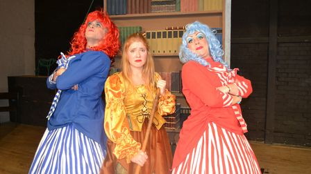 A previous production of Cinderella by Dunmow Pantomime Group