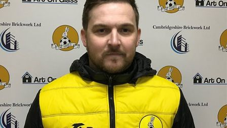 March Town boss Arran Duke is pleased with what he has seen from his players in pre-season so far. P