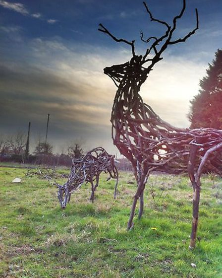 Ely-based sculptor Mike Hartley has won a £1,800 commission for Babylon Arts' 'Somewhere in Ely' pro