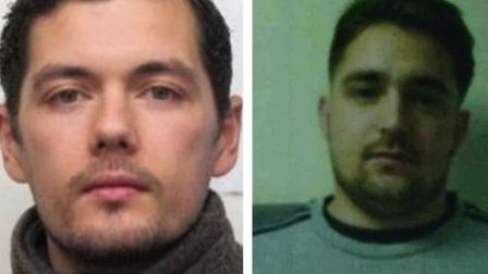 North Sea Camp absconder Charlie Oakley (left) and Timothy Stone-Parker, They are brothers-in-law an