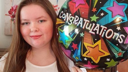 Neale-Wade pupil Caitlin Taylor achieved three Grade Nines, two Grade Eights, three Grade Sevens and