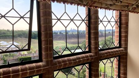 The interior features of The Old Hall, near Ely, have been modernised but still have a traditional f