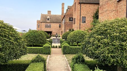 The gardens at The Old Hall, near Ely. Pictures: Louise Hepburn