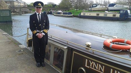 Bob Todd with The Liberty Belle. Picture: Supplied/Facebook