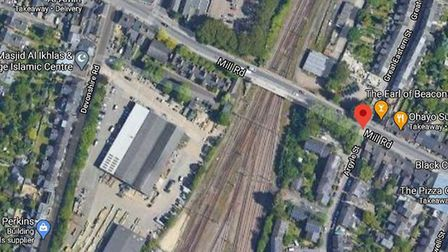 British Transport Police were called at around 2.15am today to an area of railway by Mill Road, near