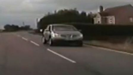 Police drove at speeds over 110mph in order to catch disqualified driver Jamie Ault along Benwick Ro