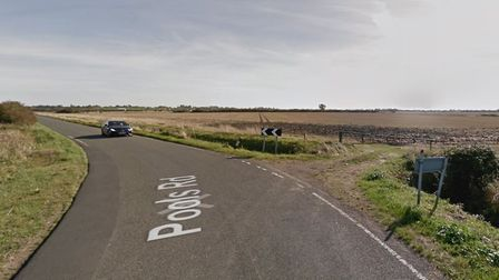 Firefighters believe the caravan fire on Pools Road in Witchford was deliberate. Picture: Google Map