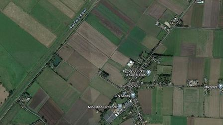 Firefighters from Manea were called to Hundred Foot Bank in Pymoor on Saturday August 22 after a bla
