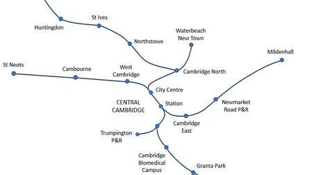 A map of the CAM Metro. Picture; CAPCA