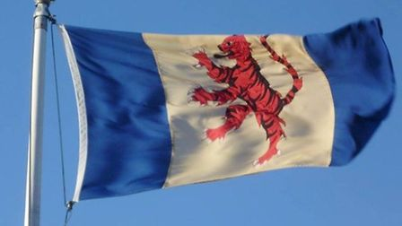 A flag to represent the traditions and importance of the Fenland region was created by James Bowman