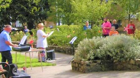 March Can't Sing Choir held its final 'Sing-in-the-Open-Air' event in blazing sunshine and is now se