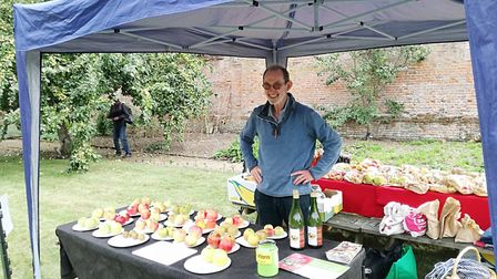 Neil Reeves of the East of England Apple and Orchard Project will be at the Apple and Bees Day at th