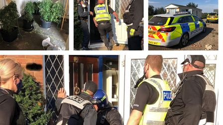 Busy day for police in the Fens. Two arrests followed a drugs raid in Station Road, Ramsey and they