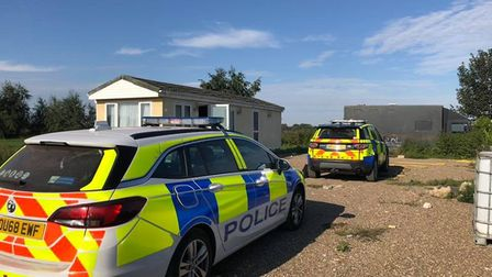 Busy day for police in the Fens. Two arrests followed a drugs raid in Station Road, Ramsey and polic