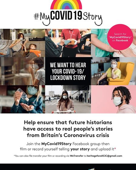 Heritage For All CIC based in Soham hopes to archive the life of others during the Covid-19 pandemic