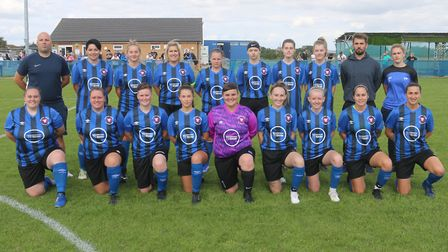 Whittlesey Athletic Ladies (pictured) played their first Women's FA Cup tie in their history against