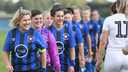 Whittlesey Athletic Ladies played their first Women's FA Cup tie in their history against Peterborou