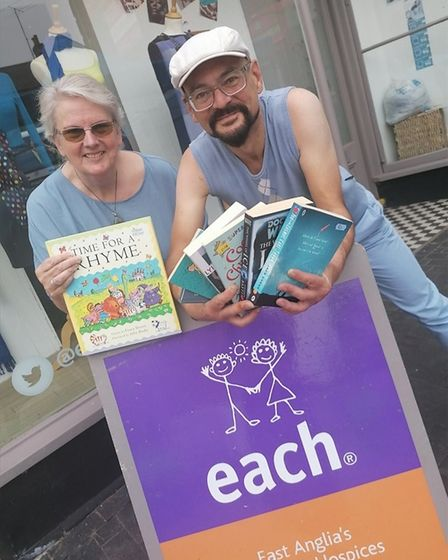East Anglia's Children's Hospices shops across the region are giving away free books for children du