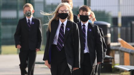 Around 30 per cent of people are refusing to send their children back to school amid the coronavirus