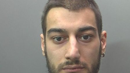 Ricardo Viegas, 22, of Thorney Road in Eye, Peterborough was handed a total of six years and nine mo