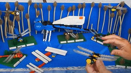 The 'Build the Fantastic Fens' LEGO® competition closes on September 11, 2020. Pictures: Screenshot