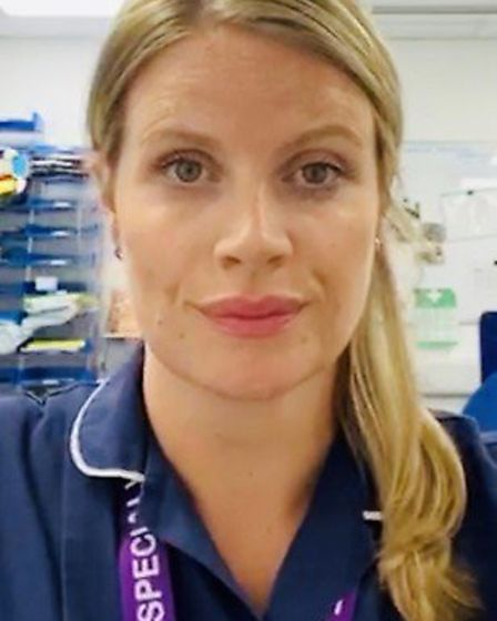 Claire Murphy, specialist nurse for organ donation. Picture: Supplied
