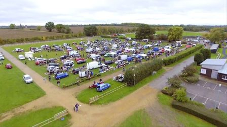 Huntingdon Racecourse weekly car boot sale. Picture: Two Four Broadcast Ltd/Netflix/Star Boot Sale