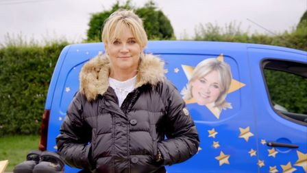 TV presenter Anthea Turner. Picture: Two Four Broadcast Ltd/Netflix/Star Boot Sale