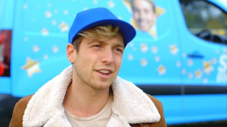 Made in Chelsea star Sam Thompson. Picture: Two Four Broadcast Ltd/Netflix/Star Boot Sale