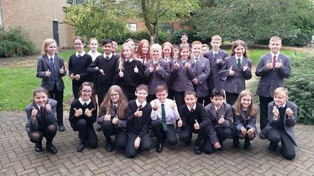 It was smiles all round as Ely College welcomed pupils for the first day of the new academic year. T