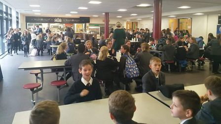 It was smiles all round as Ely College welcomed pupils for the first day of the new academic year. L