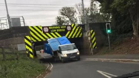 Van driver transporting four portable toilets becomes latest entry in the 'Britain's Most Bashed Bri