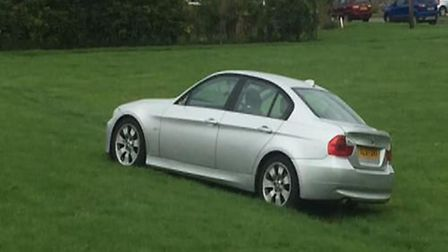 A driver who decamped from his vehicle and fled officers on foot in Manea after a police pursuit tha