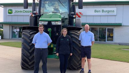 Agricultural machinery dealership Ben Burgess Coates is gearing up for another charity tractor run i