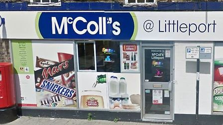 A suspect broke into McColl's convenience store in Littleport overnight, allegedly stealing cigarett
