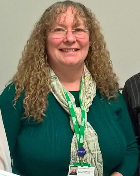 Cathy Cunningham-Elliot, who manages the Macmillan benefits advice service for Cambridgeshire, Norfo