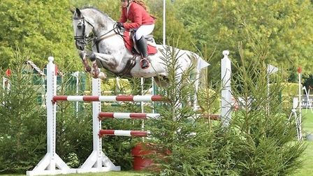Bianca Seward-Morris competed at the All England Jumping Championships at Hickstead after returning