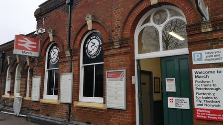 A person has died after being struck by a train in March. Picture: Archant