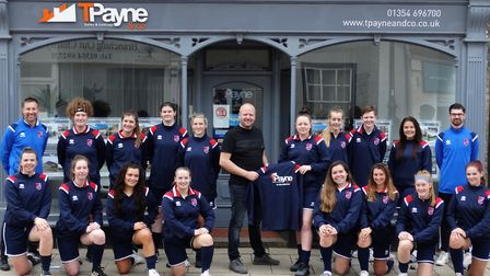 Park Ladies have been preparing on and off the pitch as they eye a promotion challenge to the Cambri