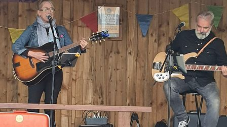 Live music was available when the Kings Arms in Ely held a fundraising event in aid of the East Angl