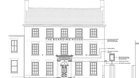 JD Wetherspoon has submitted plans for 24 St Mary's Street in Ely. Picture: East Cambridgeshire Dist