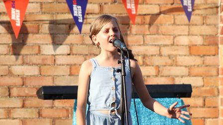 Children performed in two concerts led by musical theatre teacher Vicki Mason, which raised money fo