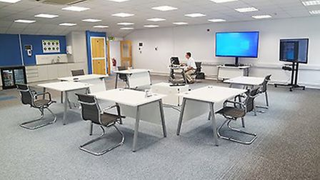 IT Governance has opened a Covid-19-safe cyber security training centre in Ely. Picture: IT GOVERNAN