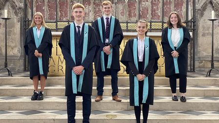 Heads and deputy heads at King's Ely. Picture: Supplied